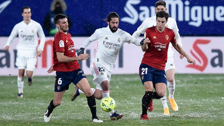 Осасуна - Реал Мадрид 0:0