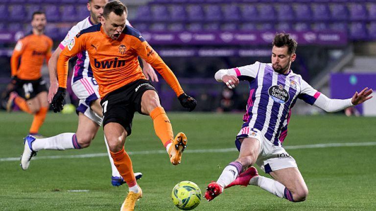 Реал Валядолид - Валенсия 0:1