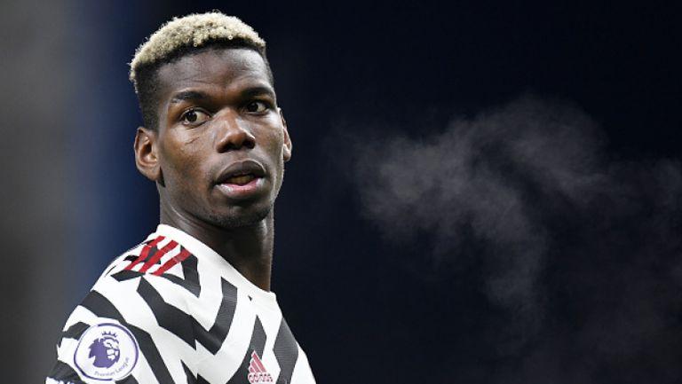 Погба изведе Манчестър Юнайтед до върха след труден успех с 1:0 срещу Бърнли