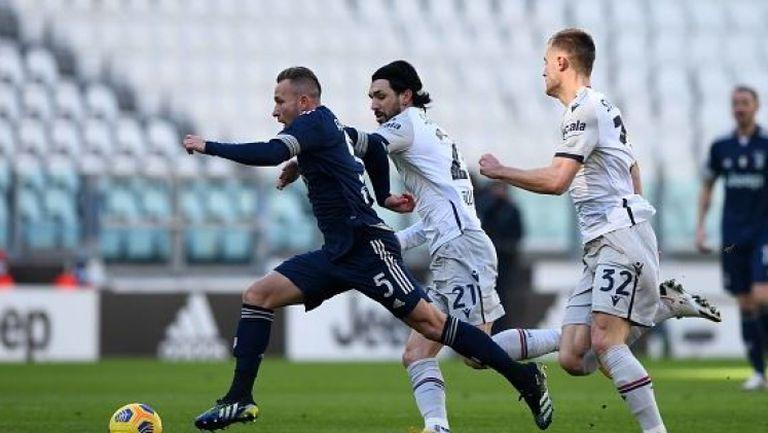 Ювентус не се затрудни срещу Болоня и спечели с 2:0