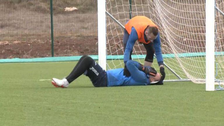 Инцидент с Ники Михайлов на тренировката на Левски в Умаг