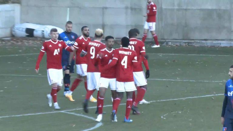 Енрике се разписа за ЦСКА-София  в 72-ата минута
