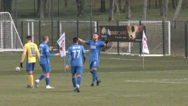 Стивън Петков вкара втори гол за Левски срещи Копер