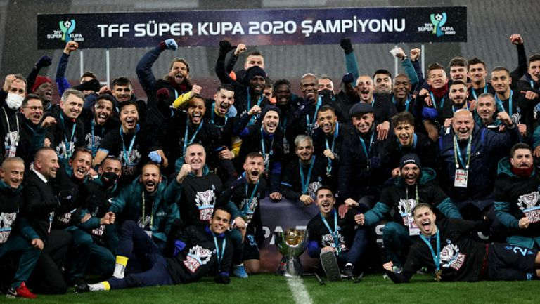 Трабзонспор ликува със Суперкупата на Турция