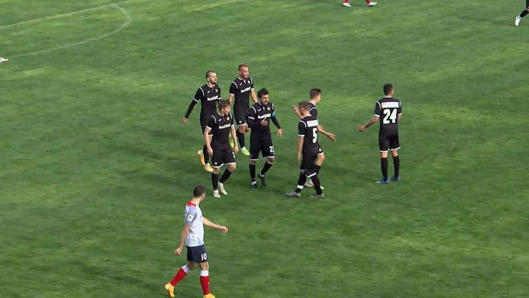 Мартин Сораков удвои аванса за Славия срещу Иртиш Омск