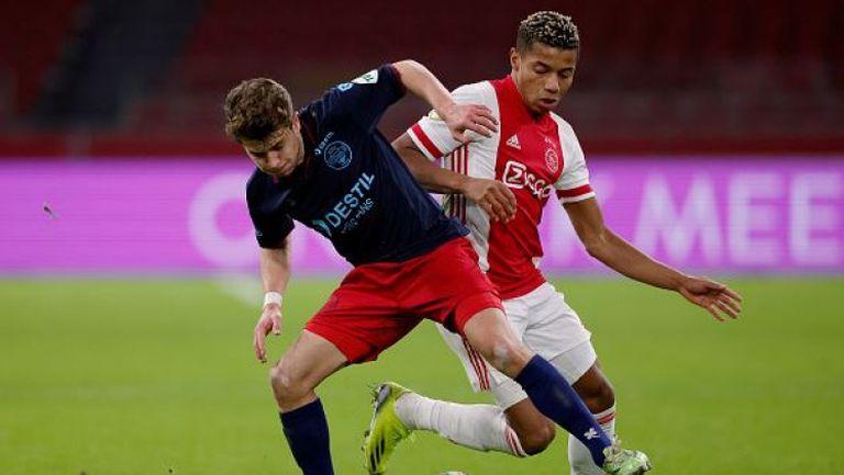 Аякс с четвърта поредна победа в Нидерландия