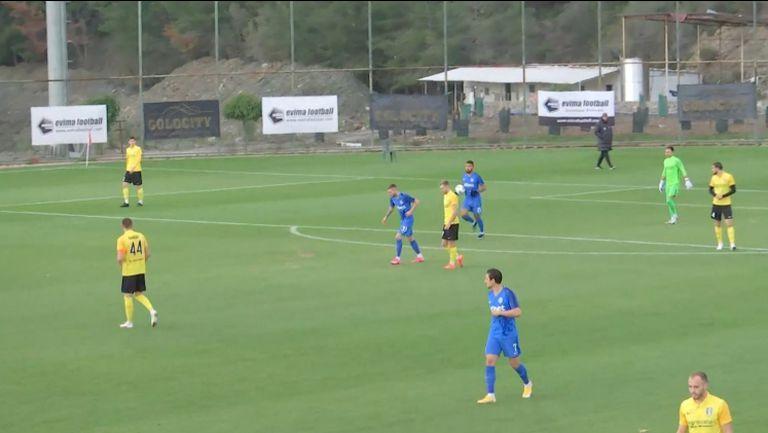 Жуниньо направи резултата 1:1 след грешка на вратаря на Олександрия