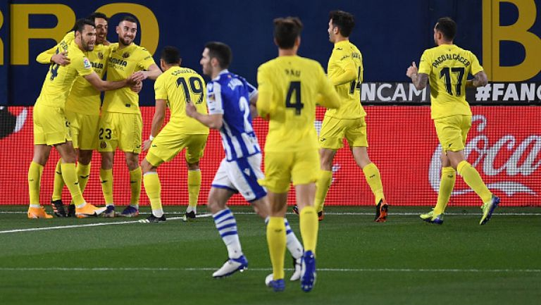 Виляреал - Реал Сосиедад 1:1