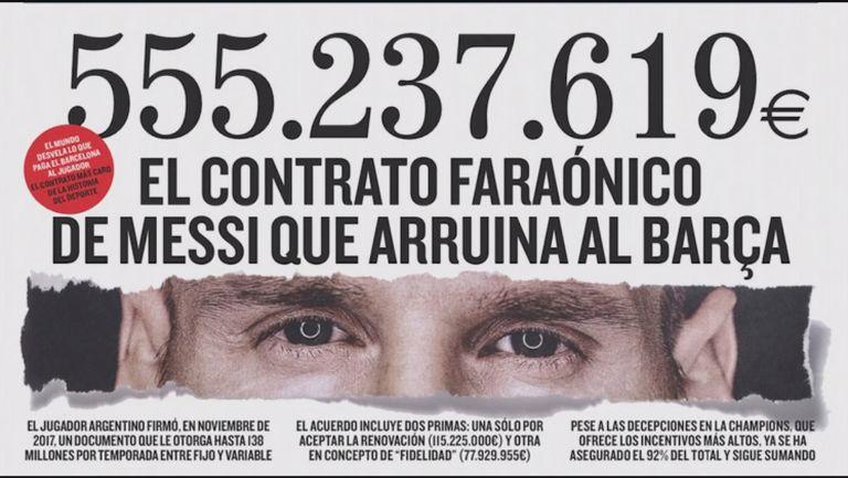 Испански вестник доказа, че Меси има най-скъпия договор на спортист