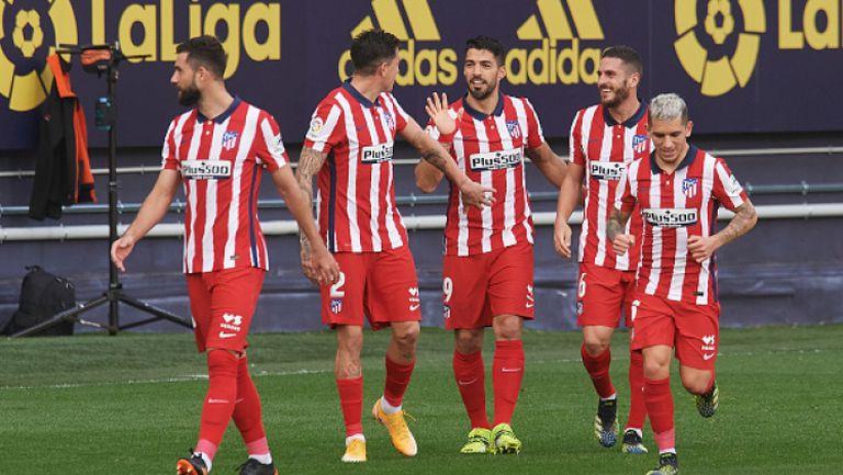 Кадис - Атлетико Мадрид 2:4, Суарес отново блести