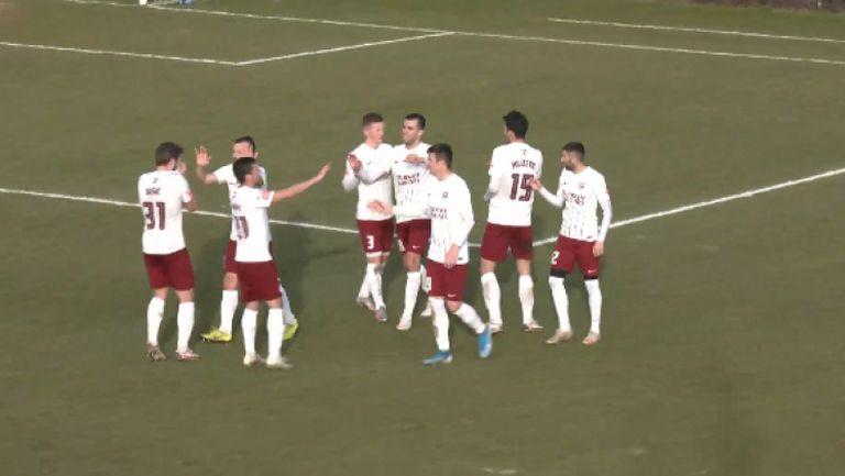 Ханджич откри резултата за Сараево срещу Левски