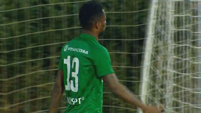 Мавис Чибота заби третия гол за Лудогорец в мрежата Динамо Тбилиси