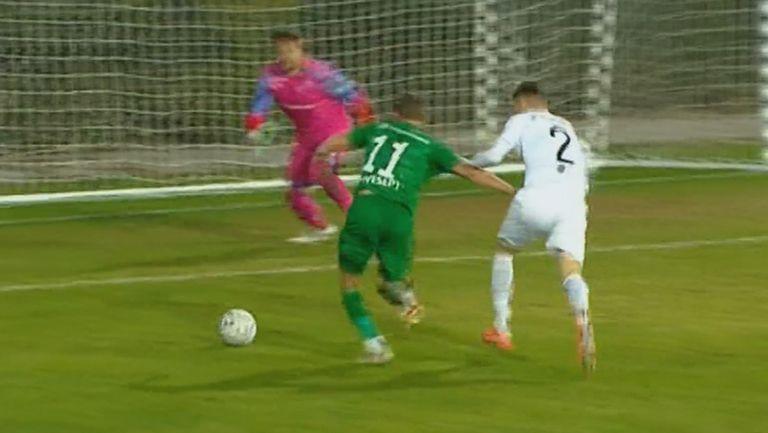 Имаше ли дузпа за Лудогорец срещу Динамо Тбилиси?