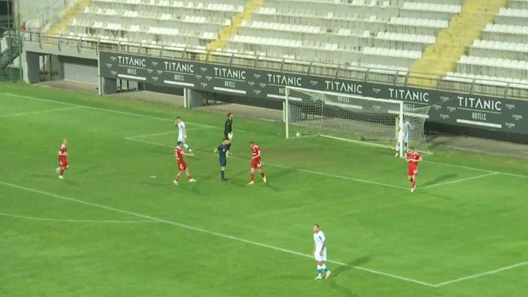 Бастунов направи резултата в мача 2:2