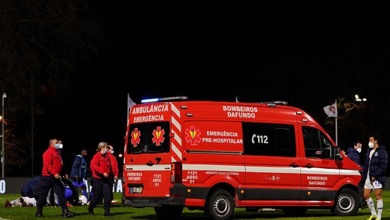 Тежък инцидент беляза мач на Порто
