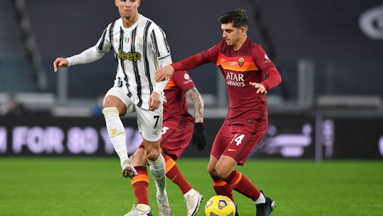 Кристиано поведе Ювентус към лесна победа срещу Рома