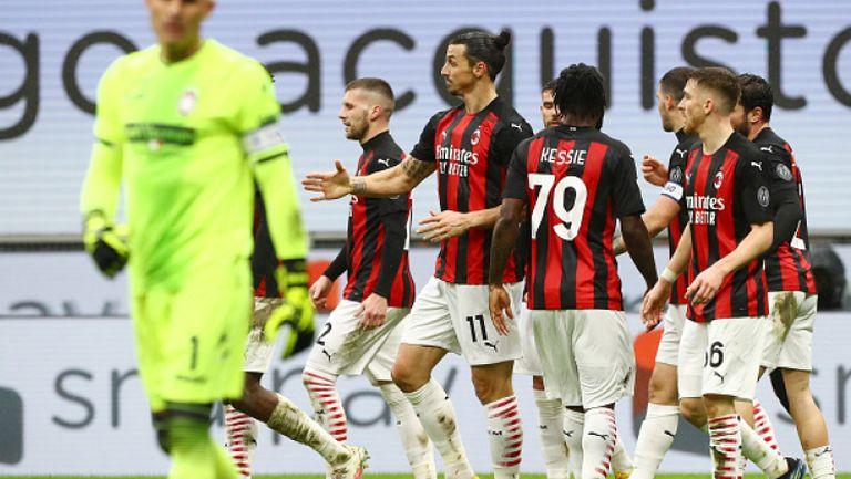 Милан - Кротоне 4:0