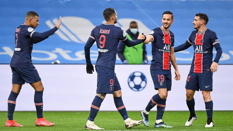 Марсилия - Пари Сен Жермен 0:2