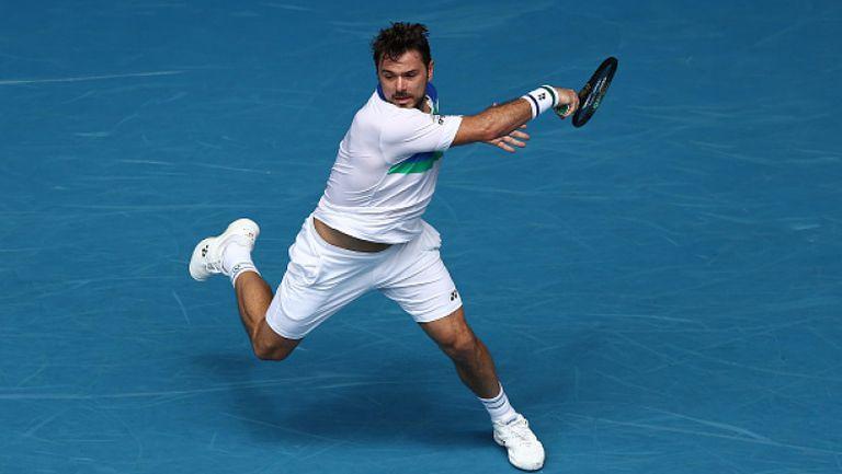 Вавринка с летящ старт на Australian Open