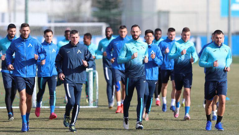Левски с открита тренировка преди рестарта на шампионата
