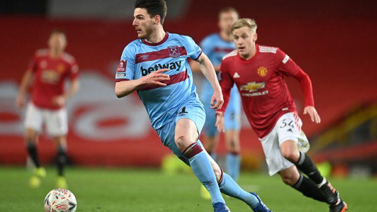 Ман Юнайтед продължава напред за ФА Къп след минимален успех над Уест Хам
