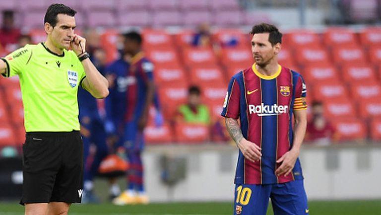 Жоан Лапорта: ВАР помага на Реал Мадрид, Меси ми вярва