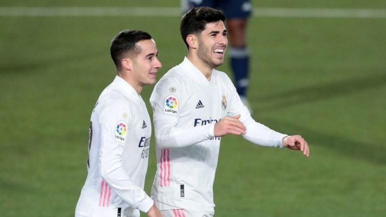 Реал Мадрид откри годината със стъпка към върха (видео)