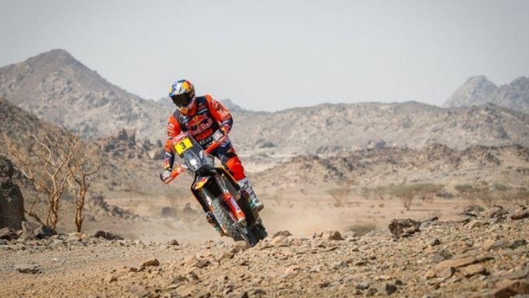 Двукратен шампион спечели първия етап при мотоциклетистите в Дакар