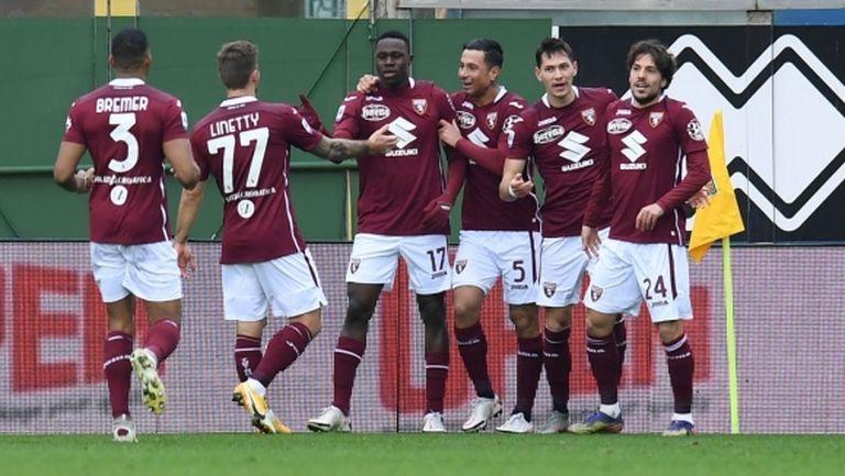 Много важен успех за Торино в гостуването на Парма
