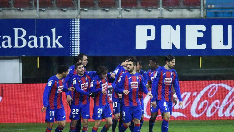 Ейбар с първа победа в Ла Лига от ноември (видео)
