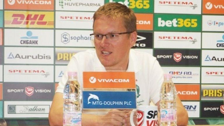 Лудогорец представя новия треньор в петък