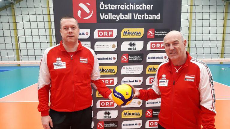 Австрия ни се кани с треньорски тандем