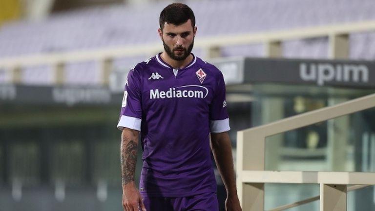 Бивш нападател на Милан напуска Фиорентина