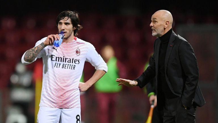 Пиоли: Полезна загуба за Милан