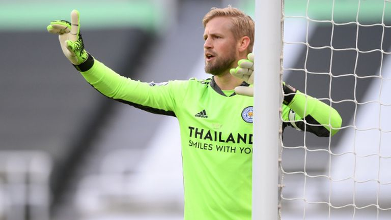 Каспер Шмайхел за трети път е Футболист №1 в Дания