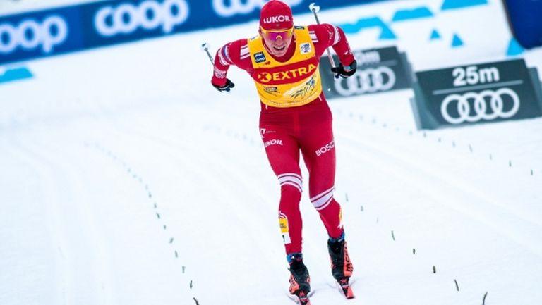 """Болшунов с решителна крачка към триумфа в """"Тур дьо ски"""""""