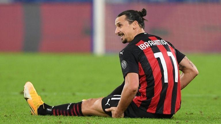 Милан ще трябва да почака още седмица до завръщането на Ибра