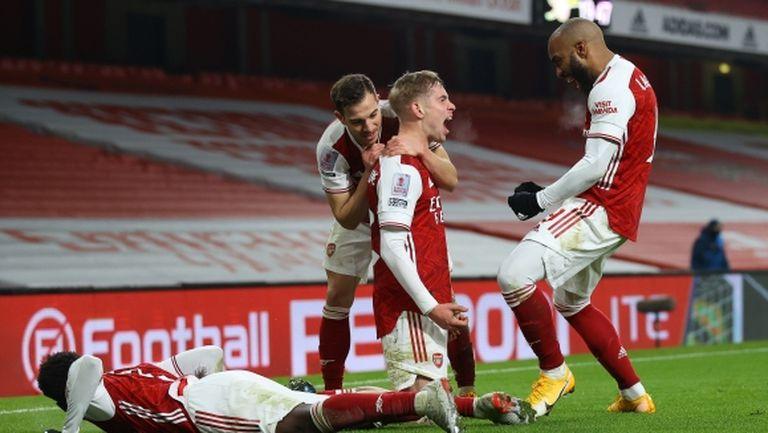 Арсенал пречупи Нюкасъл с голове във второто продължение (видео)