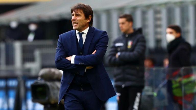 Конте: Срещу Рома ще измерим нашите амбиции
