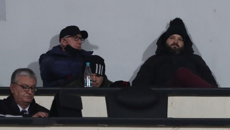 Шеф на ЦСКА-София гледа на живо дерби за ФА Къп