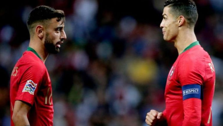 Бруно Фернандеш разкри какво го е посъветвал Кристиано Роналдо преди трансфера в Ман Юнайтед