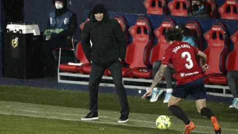 Това не беше футбол, оплака се Зидан