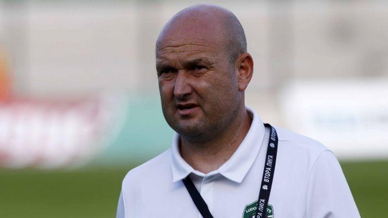 Тодор Живондов афишира амбиции Лудогорец 2 да завърши на едно от челните места във Втора лига