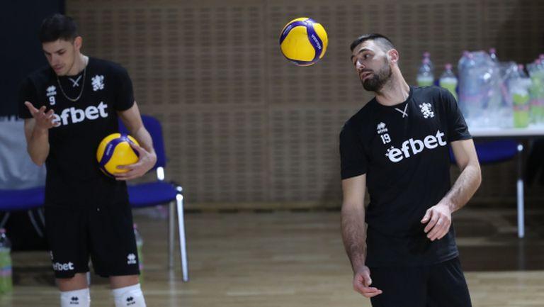 Националите с последна тренировка преди квалификациите за Евроволей 2021 (видео + галерия)