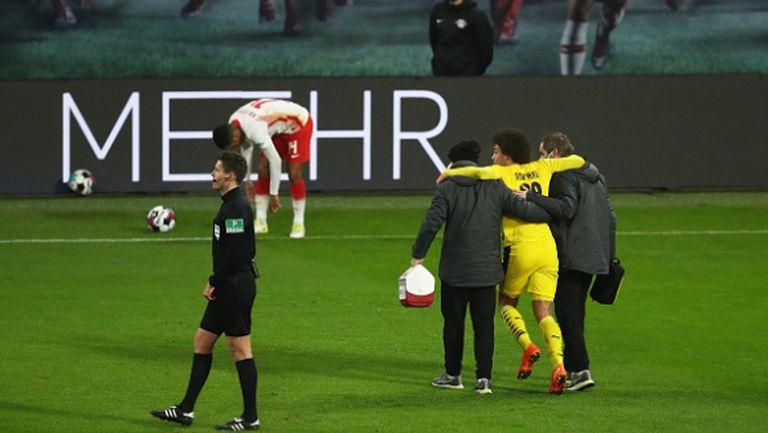Важен играч на Белгия претърпя успешна операция, но е под въпрос за Европейското