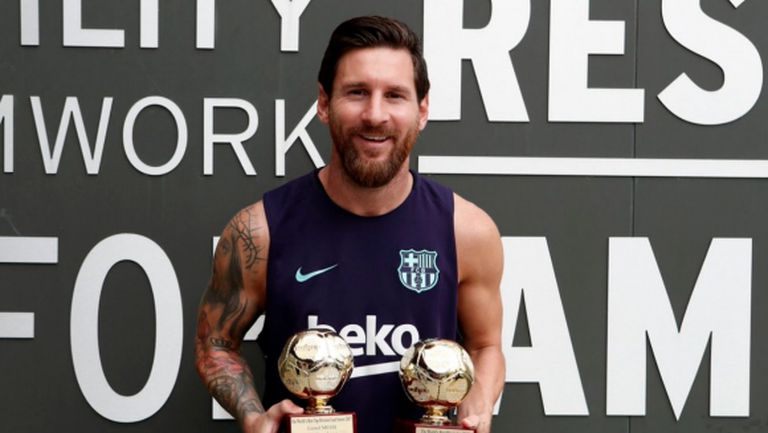 Роналдо и Меси с поредни награди, Симеоне е победител при треньорите