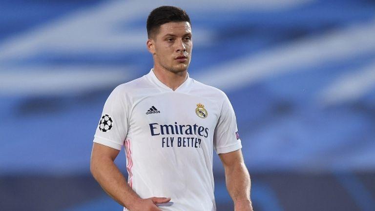 Реал Мадрид връща Лука Йович в Айнтрахт