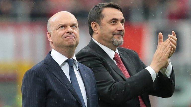Бивш директор на Милан: Нашeто ръководство има 50% заслуга за лидерството на Милан