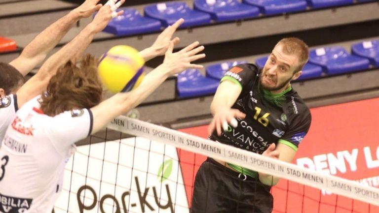 Трифон Лапков заби 32 точки, но КНАК Рьозеларе спря Менен в Белгия (видео + снимки)