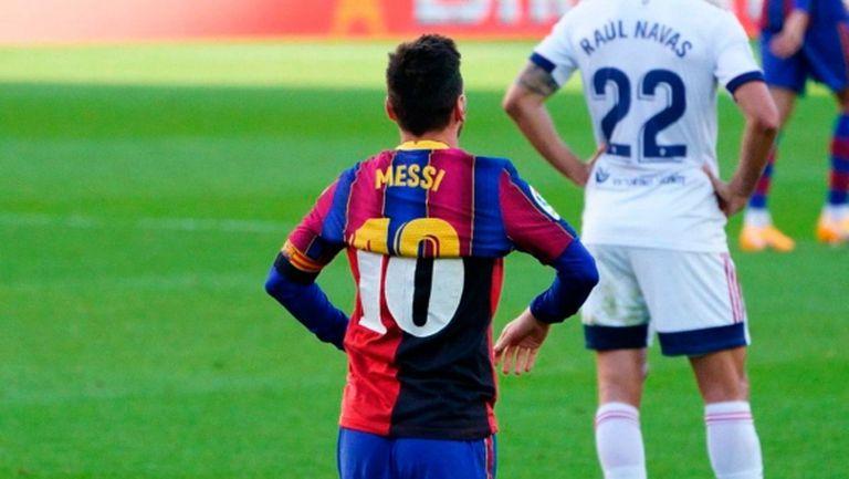 Потвърдиха санкцията на Меси заради фланелката на Марадона